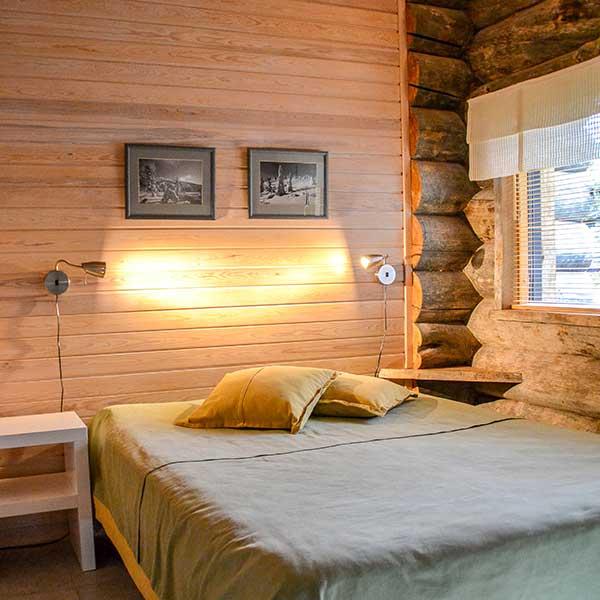 Bedroom | Makuuhuone | Kelokoto paritalot, Ruka
