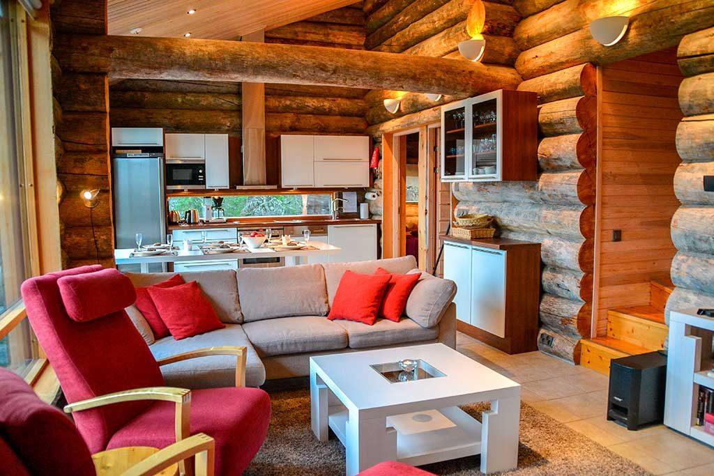 Olohuone | Living room | Kelokoto Ruka