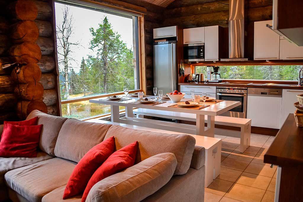 Ruokailualue | Dining area | Kelokoto Ruka