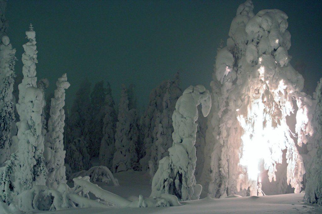 Winter's magic!   Kelokoto, Ruka